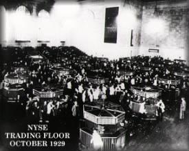 stock market crash 1929 NYSE
