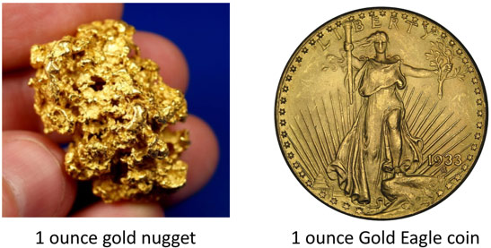 How Much Is An Ounce Of Gold April 2019