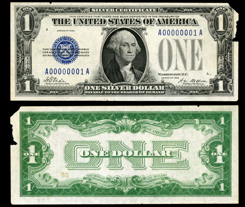 Silver Certificate and Executive Order 11110