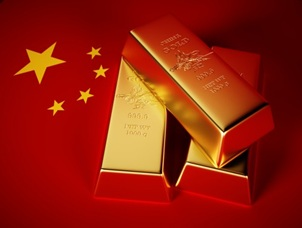 China and gold