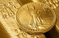 gold eagle coin and bullion