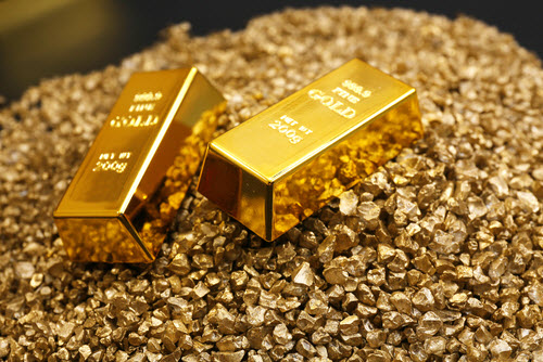 gold mining nuggets and bullion