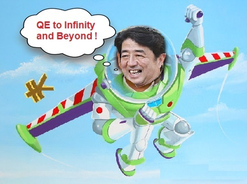 QE to infinity and beyond
