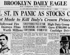 stocks crash headline